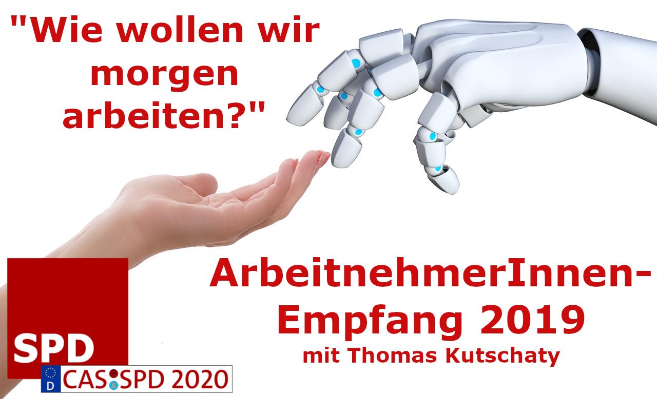 SPD lädt zu ArbeitnehmerInnen-Empfang mit Thomas Kutschaty ein