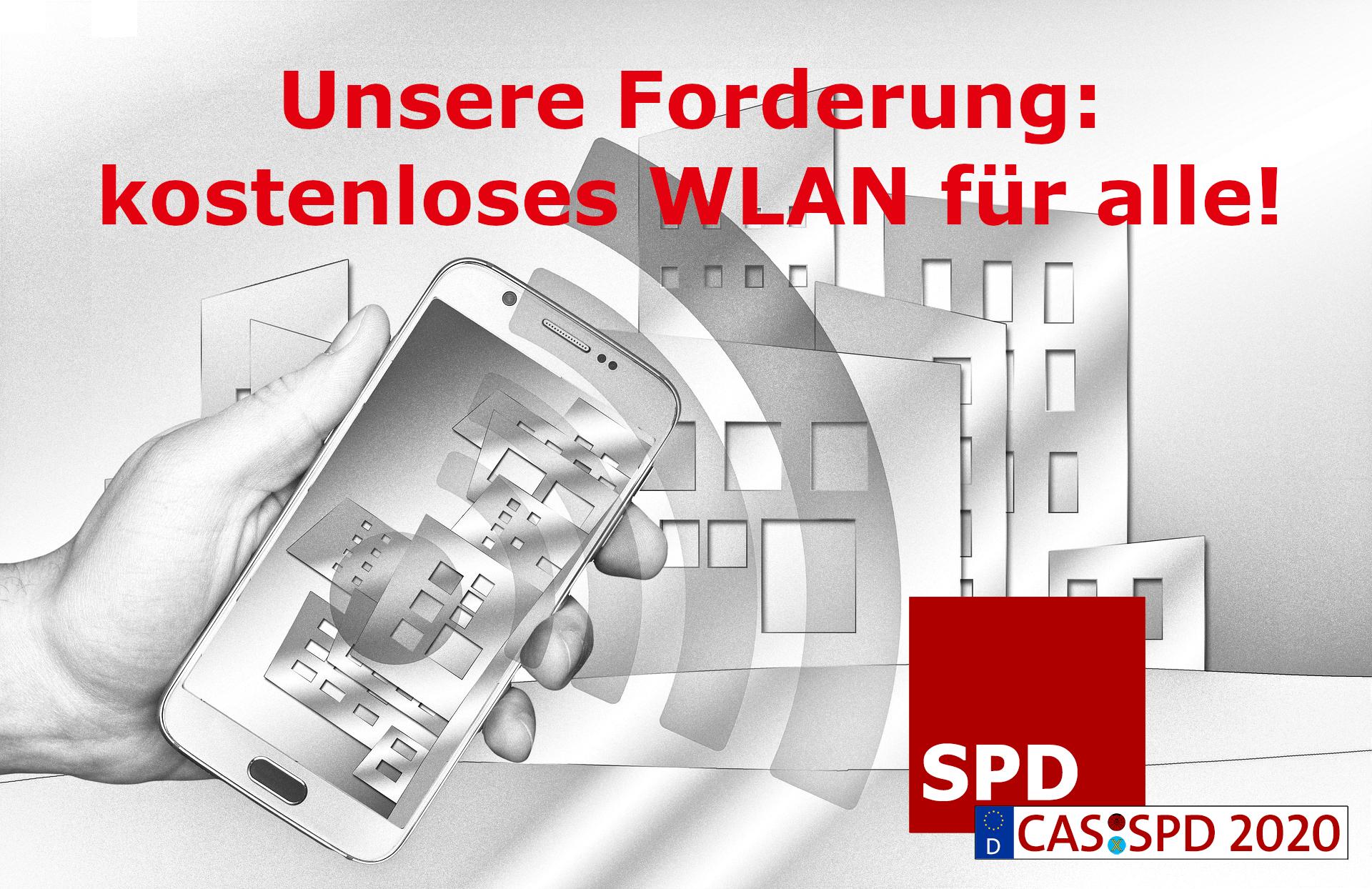 SPD fordert kostenloses WLAN für alle